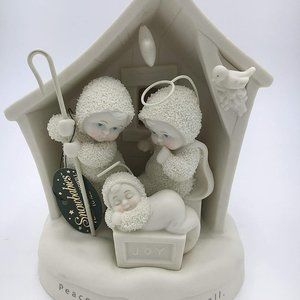 """Snowbabies """"Peace And Goodwill To All"""" 6934-4"""